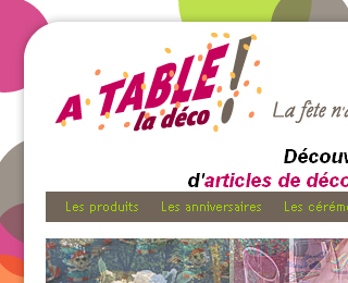 A table la d�co !