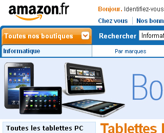 Amazon Tablettes PC