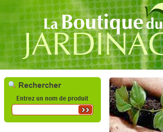 Sites for Boutique jardinage en ligne