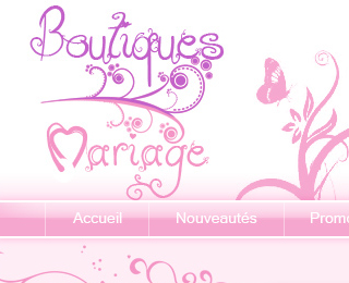 Boutiques mariage