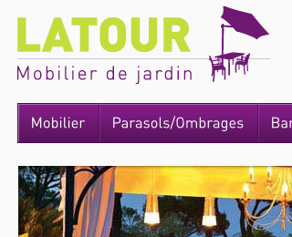 Latour mobilier jardin