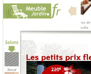Meuble jardin
