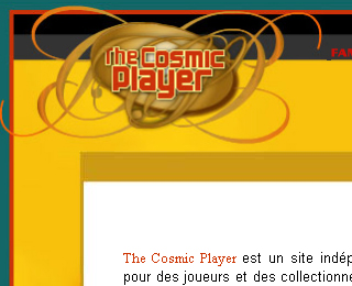 The Cosmic Player
